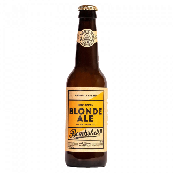 Bouteille Bière blonde ale bombshell Goodwin Brewery 33 cl