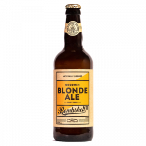 Bouteille Bière blonde ale bombshell Goodwin Brewery 50 cl